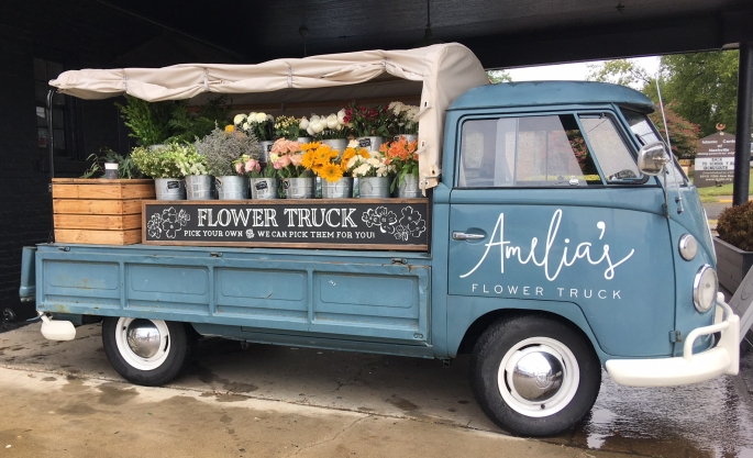 Instagram Nashville Flower Cart